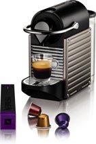 Krups Nespresso Pixie XN3005 - Koffiecupmachine - Titanium