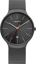 BERING 13338-077 - Horloge - Staal - Grijs - 38 mm