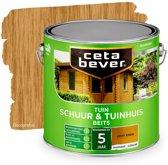 Cetabever Tuin Schuur & Tuinhuis Beits - Transparant - 006 Licht Eiken - 2,5 liter