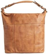 PIECES Ida Leather Daily Bag cognac - dames