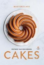 Boek cover Masterclass - Cakes van Rutger van den Broek (Hardcover)