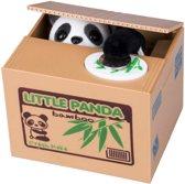 MikaMax Panda Spaarpot Spaarbank Stelende panda