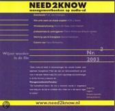 Brandworld Need2Know (luisterboek)