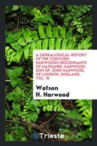 A Genealogical History of the Concord Harwoods