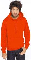 Oranje sweater/trui hoodie voor heren - Holland feest kleding - Supporters/fan artikelen