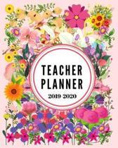 Teacher Planner 2019-2020: Teacher Planner and Record Book 2019-2020 Academic Year Gifts Teacher Planner and Grade Book for Men