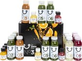 DrDetoxBox 3-daags Veggie Juice Detox Sapkuur (27 groentesapjes)