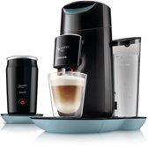 Philips Senseo Twist & Milk HD7874/60 - Koffiepadapparaat - Ochtendmist en Zwart