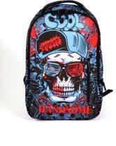 Adventure Bags DLX Laptoprugzak 15 inch 15 l Blauw Rood Zwart