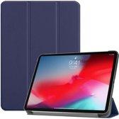 Apple iPad Pro 11 2018 hoesje - Smart Tri-Fold Case - blauw