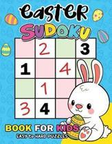 Easter Sudoku Book for Kids