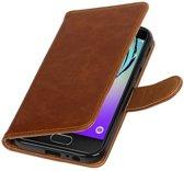 Samsung Galaxy A3 2017 A320F Bruin | Premium PU Leder bookstyle / book case/ wallet case  | WN™