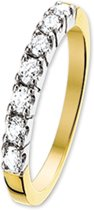 The Jewelry Collection Ring Diamant 0.30 Ct. - Bicolor Goud