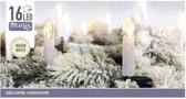 Kaarsen verlichting warm wit binnen 16 lampjes