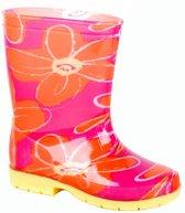 Gevavi Boots Suze meisjeslaars pvc roze/oranje 23
