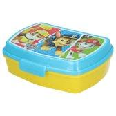 Broodtrommel Paw Patrol voor Kinderen – 16x11x6cm – Geel Blauw | Lunchbox | Lunch Trommel | Lunchboxen