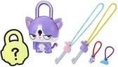 Hasbro Lock Stars-figuur Cat Paars 5-delig