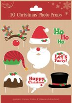 Kerst foto booth happy christmas