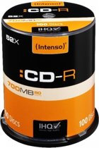 Intenso CD-R 700Mb 52x spindel (100)