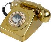 Wild & Wolf 746 - Retro telefoon - Goud