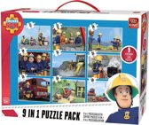 Fireman Sam 9in1 Puzzle Pack