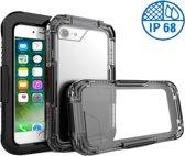 Apple iPhone 7 Plus Waterdichte Zwart Hoesje IP68 Certifering tot 10 meter, Hoesje Waterdicht tot 10 meter iPhone 7 Plus, Cover Waterproof iPhone 7 Plus, Waterdichte Case iPhone 7 Plus
