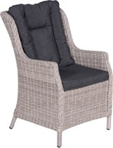 Garden Impressions - Osborne dining fauteuil - organic grey