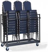 Trolley XXL voor transport Stoelen (Transport stoelen niet inbegrepen)