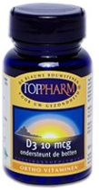 Toppharm Vitamine D3 - 100 Tabletten  - Vitaminen