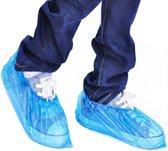 Schoencovers schoenhoesjes wegwerp 100 stuks / Overshoes Waterproof Medical plastic / HaverCo