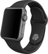 Apple Watch Sport Spacegrijs – 38mm – Sportband Zwart