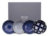 Tokyo Design Studio Kotobuki Schaaltjes - hoogwaardig porselein - set van 4