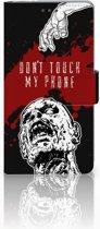 Sony Xperia Z Bookcase Design Zombie Blood