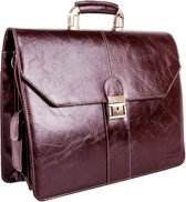 Lombard London Business Briefcase - Business Bag - Aktentas (0507 BR)