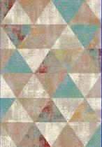Basic Collection Vintage vloerkleed Tamaya 200x290 cm -  Multikleur / Blauw