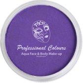 PXP Aqua schmink face & body paint neon violet special FX 10 gram
