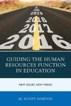 Guiding the Human Resources Function in Education
