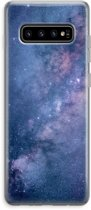 Samsung Galaxy S10 Plus Transparant Hoesje (Soft) - Nebula