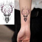 Tatoeage Hert | Trendy Tijdelijke Tattoo
