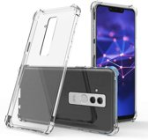 Backcover Anti-Shock TPU + PC voor Huawei Mate 20 Lite Transparant