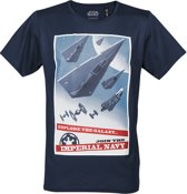 Star-Wars-T-shirt-met-korte-mouw-blauw-maat-M