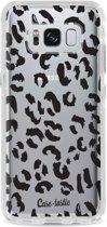 Casetastic Hard Case Samsung Galaxy S8 - Leopard Print Black
