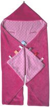 Snoozebaby - wikkeldeken Trendy Wrapping - Funky Pink - 80x80