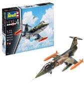 REVELL 1:72 Model Set f104 Starfighter