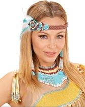 Kleurrijke indianen juwelen set voor vrouwen - Verkleedattribuut