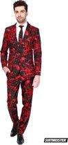 Suitmeister Black Blood - Mannen Kostuum - Zwart - Halloween - Maat XL