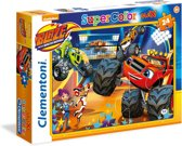 Clementoni Blaze: Monster Machines 24stuk(s)