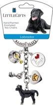 Little Gifts sleutelhanger Labrador gekleurd