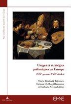 Usages Et Strat gies Pol miques En Europe