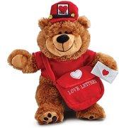 Valentijn pluchen beer postbode